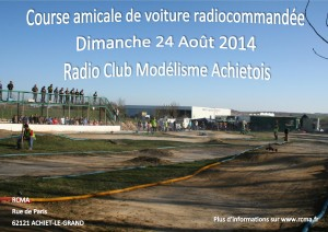Affiche amicale RCMA