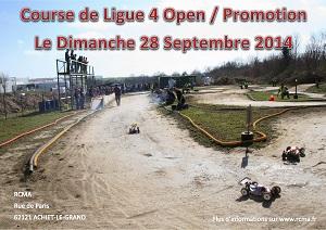 Affiche Course RCMA 28 Septembre 2014